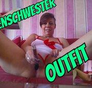 Im Krankenschwester Outfit