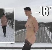 Bei minus 18 Grad