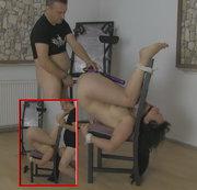 Stuhl-Bondage um zu Ficken