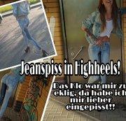 Ekelklo nein DANKE! Da piss ich mir lieber in meine Jeans!