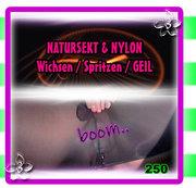 NATURSEKT & NYLON - Wichsen / Spritzen  GEIL