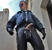 LeatherCop9 CockPlayXL&Piss