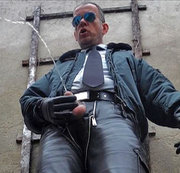 LeatherCop15 CockPlay XL & Piss