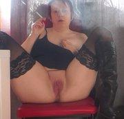 Smoking nasse Fotze nch wixxsen