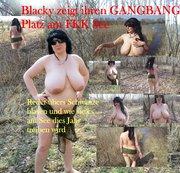 Blacky zeigt GANGBANG Platz am FKK See