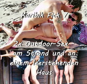 Karibik Fick 7 - 2x Outdoor-Sex am Strand und an einem leerstehenden Haus