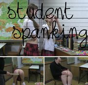 student spanking