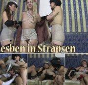 Lesben in Strapsen