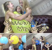 balloons & wetlook