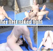 her first naked fight