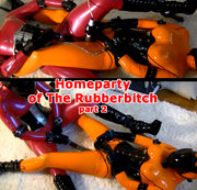Homeparty of The Rubberbitch. Part 2.