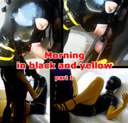 Morning in black and yellow. Part 1