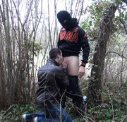 twink fucked  exhib outdoor by me