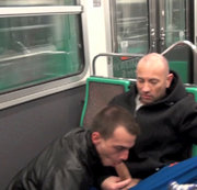 Suck XXL DICK in the subway in PARIS
