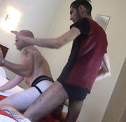 straight scally guy fuck me bareback in jockstrap
