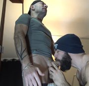 Fucked and breede sbareback by the pornstar MAX DURO