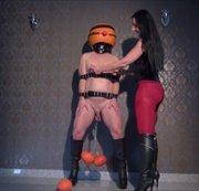 Kinky Halloween Slave