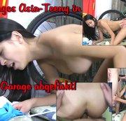 Junges Asia-Teeny in der Garage abgefickt!