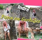 Geiler PUBLIC PISS am GardaSee (Italien Urlaub)