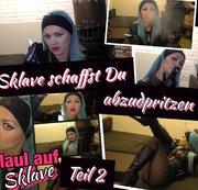Demütigung - SklaveAschenbecher, schaffst Du es dabei zu spritzen Teil 2