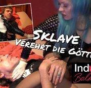 Sklave im Rollstuhl verehrte seine göttliche Herrin 4 - NS, Smoking, Spitting, UserDreh