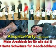 ALEXANDRA-WETT: Abspritz-Party in Dortmund. 10 dicke Schwänze für die Latex-Schlampe Download