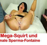 ALEXANDRA-WETT: Mega-Squirt mit analer Sperma-Fontaine Download