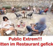 ALEXANDRA-WETT: Publik extrem! Mitten im Restaurant gefickt!!! Download