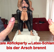 ALEXANDRA-WETT: Hardcore Abfick-Party bis der Arsch brennt! Download
