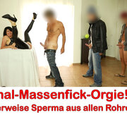 ALEXANDRA-WETT: Anal-Massenfick-Orgie! Literweise Sperma für die Lederschlampe! Download