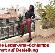 ALEXANDRA-WETT: Geile Leder-Anal-Schlampe kommt auf Bestellung Download