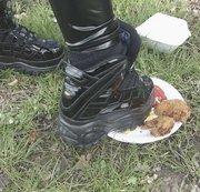 Foodcrushing / Crushing - Meine Buffs nehmen Rache am Essen der Waldarbeiter / wetlook leggins
