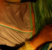 Gefickt von einer  Nylon Regenjacke / Windbreaker & Shiny Sprinter Shorts - Turnhose Teil1
