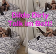 Dildo Dirty Talk im Bett!