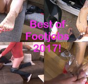Best of Footjobs 2017!