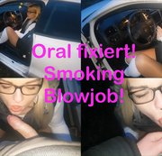 Oral fixiert! Smoking Blowjob!