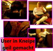 User in Kneipe geil gemacht!!