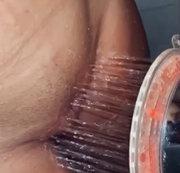 In der Dusche völlig abgedreht