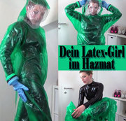Dein LATEX-Girl im HAZMAT