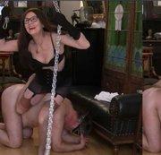 Erotische Fuß Rückenmassage - Anleitung  bis der Sklave wimmert