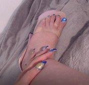 Wie gefallen dir meine Füße?