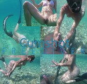 Cumshot Freediver
