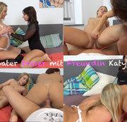 Privater Dreier mit Freundin Katy!!