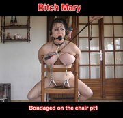 bondaged on the chair pt1