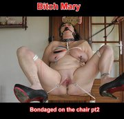 bondaged on the chair pt2