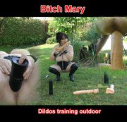 Dildos trainig outdoor pt1