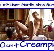 Sex mit User Martin (20cm Penis) in der Küche !!!