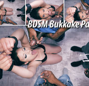 BDSM Bukkake Party