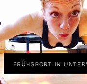 Intimate Moments: Frühsport in Unterwäsche