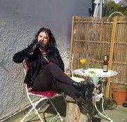 Zigarette in der Sonne